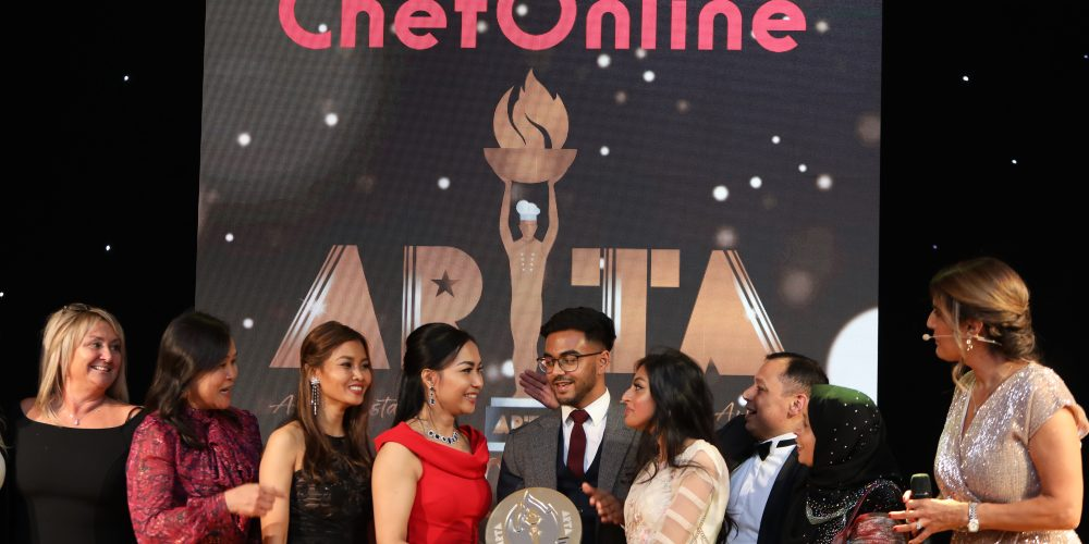Rubel Haque awarded the 'Regional Chef of the Year' at the ARTA Awards 2019